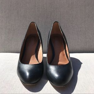 Corso Como Diamond Leather Black Pumps